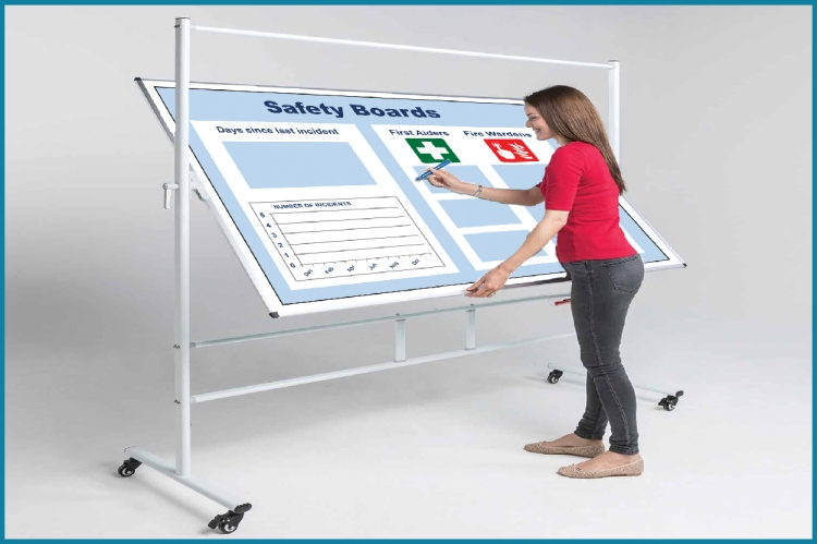 Revolving Magnetic Whiteboards